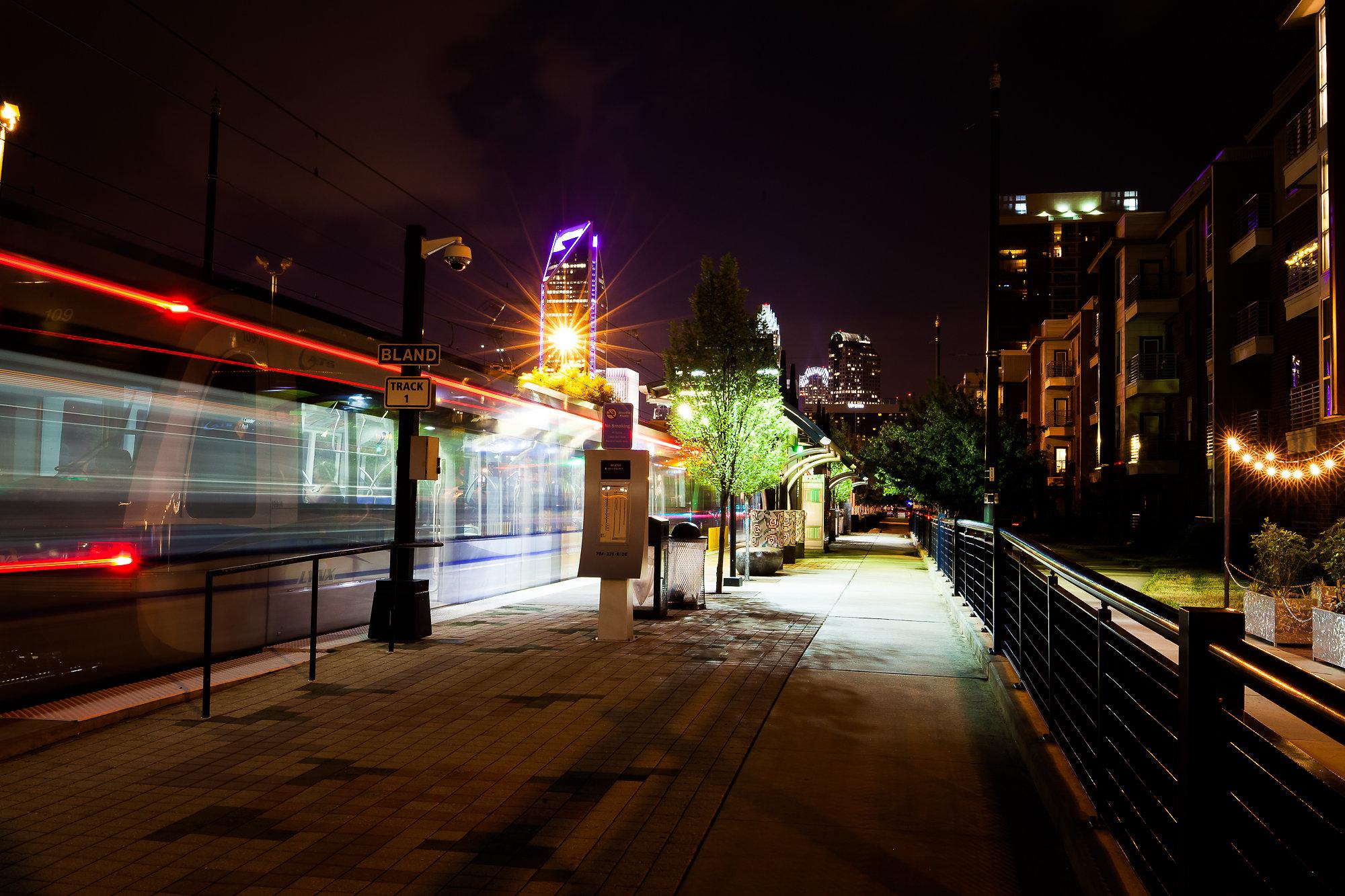 Light Rail Bland Station